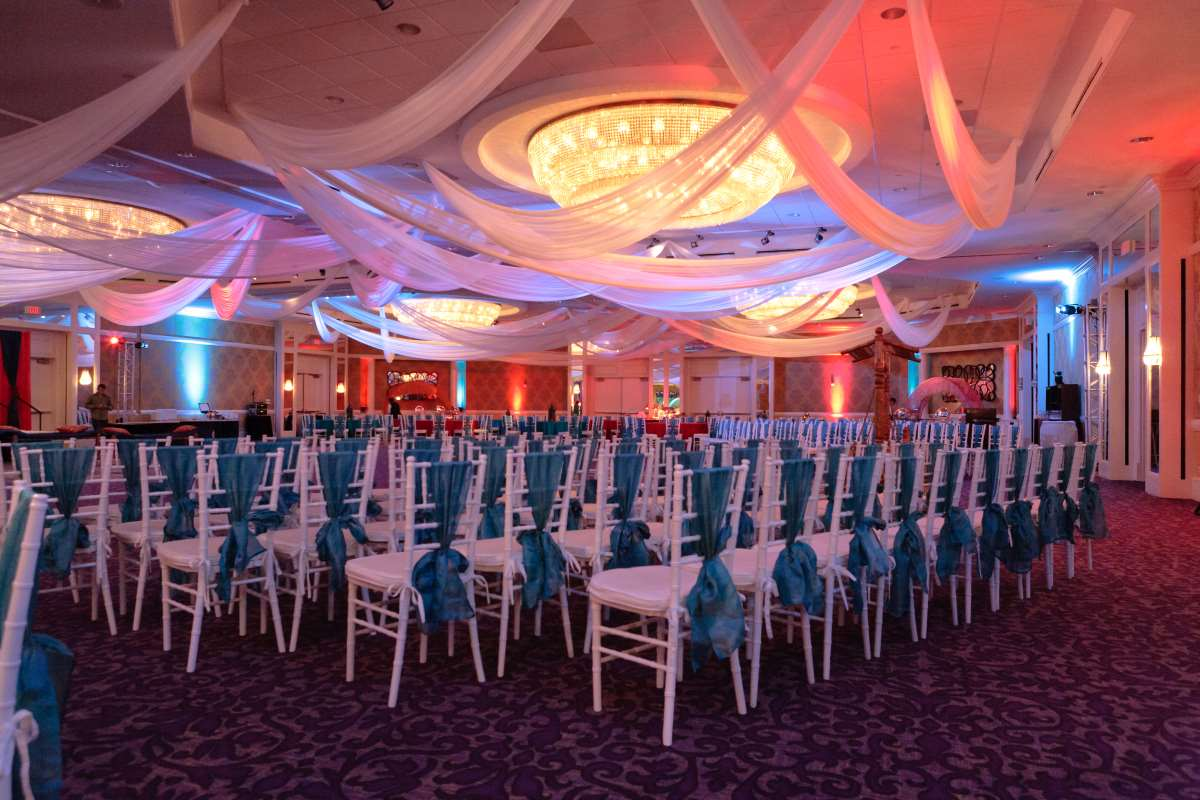 Charlotte Wedding - Wedding reception options including this cultural Charlotte wedding setup